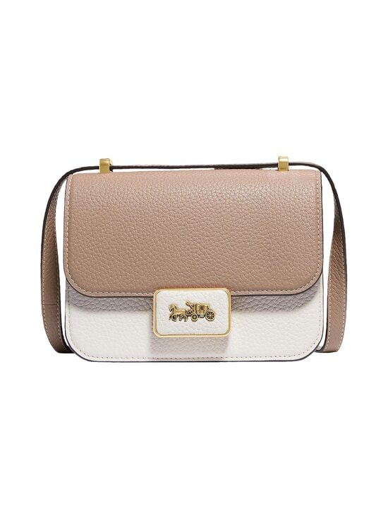 Coach - Alie Shoulder Bag 18 In Colorblock -nahkalaukku - B4PWQ B4/TAUPE MULTI | Stockmann - photo 1