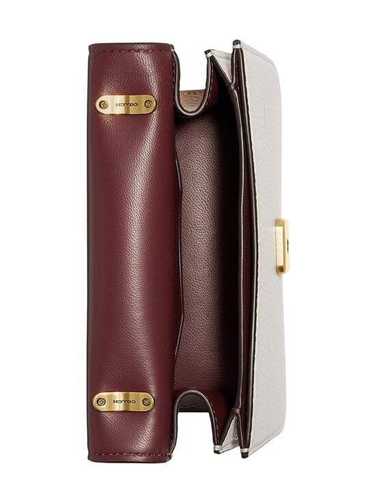 Coach - Alie Shoulder Bag 18 In Colorblock -nahkalaukku - B4PWQ B4/TAUPE MULTI | Stockmann - photo 4