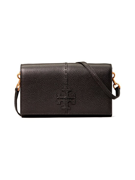 Tory Burch - McGraw Wallet Crossbody -nahkalaukku - 001 BLACK | Stockmann - photo 1