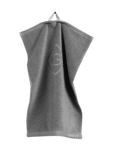 Gant Home - Organic G -pyyhe 30 x 50 cm - 161 ELEPHANT GREY | Stockmann