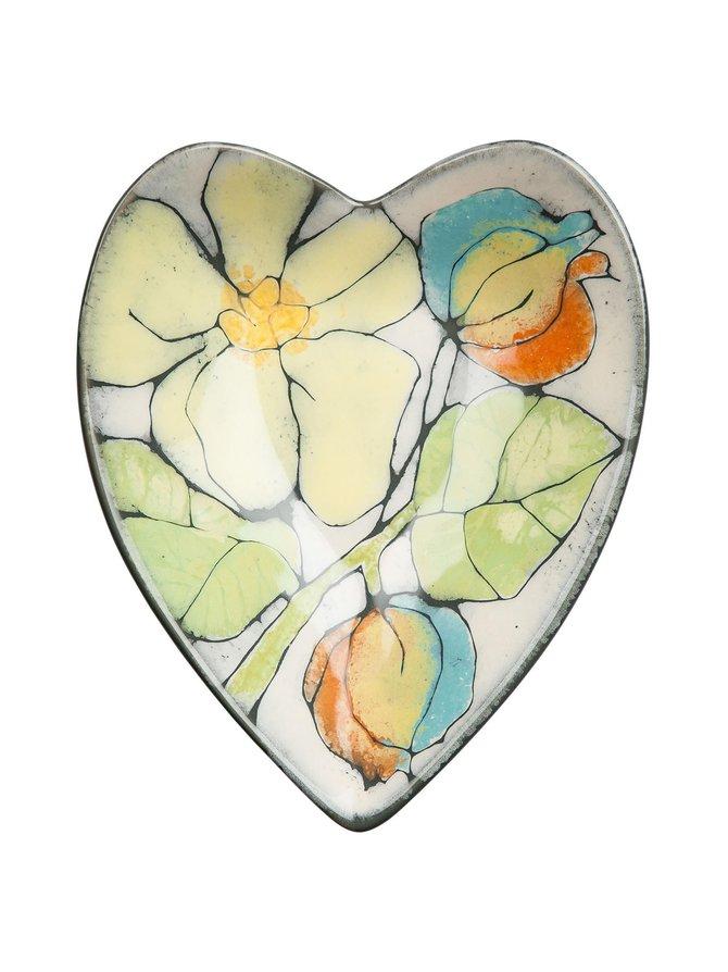 Vieno Studio -sydänmalja 18 x 22 cm