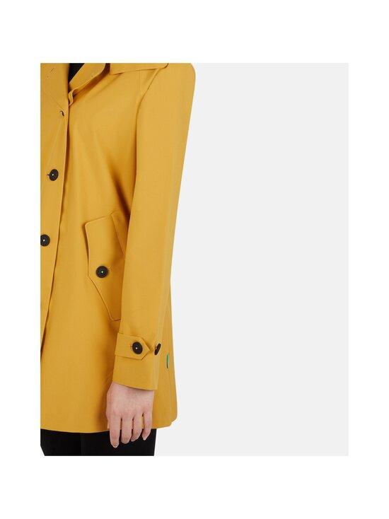 Save The Duck - Grin Brooke trench coat w hoodLC03/21 -takki - 60000 OCHRE YELLOW | Stockmann - photo 4