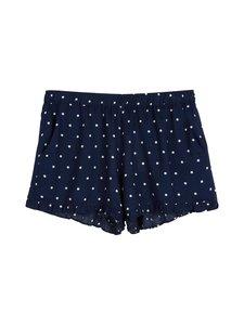 NOOM loungewear - Ulla-pyjamashortsit - DK.NAVY/WHITE COMBO | Stockmann