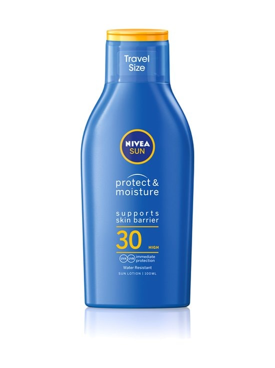 NIVEA - Sun Protect & Moisture Sun Lotion SPF 30 -aurinkosuojavoide 100 ml - NOCOL | Stockmann - photo 1