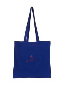 GANT - Shopper-puuvillakassi - 436 COLLEGE BLUE | Stockmann
