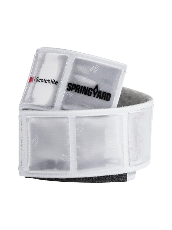 Springyard - Velcro Soft Reflex -heijastinnauha - WHITE | Stockmann - photo 1