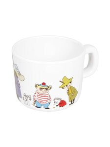 Moomin - Ystävät-muki 0,25 l - VALKOINEN | Stockmann