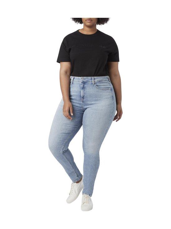 Plus Size High Rise Skinny -farkut
