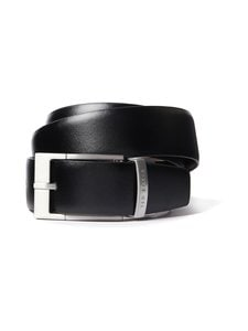 Ted Baker London - Connary Reversible Prong Buckle -nahkavyö - 00 BLACK | Stockmann