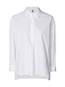 Tommy Hilfiger - Sanni Oversized Shirt -pusero - YCF TH OPTIC WHITE | Stockmann