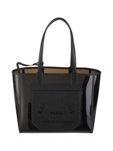 Karl Lagerfeld - K/Journey Transparent Tote -laukku - BLACK A999   Stockmann