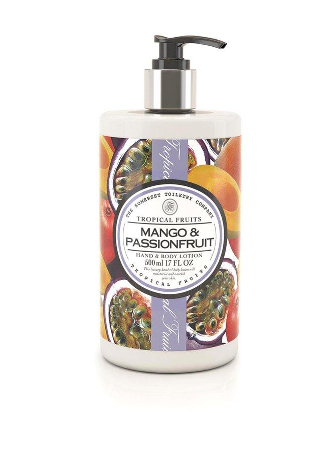 Mango & Passionfruit Hand & Body Lotion -vartalovoide 500 ml