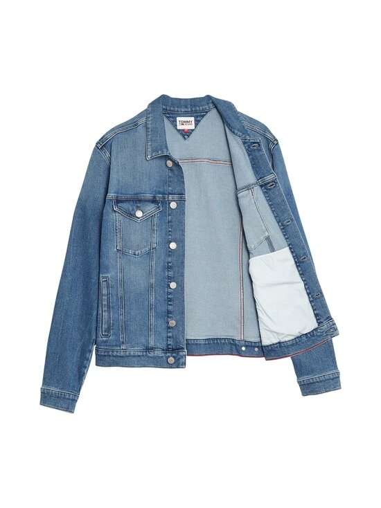 Tommy Jeans - Regular Trucker Jacket -farkkutakki - 1A5 LINCOLN MB COM | Stockmann - photo 3