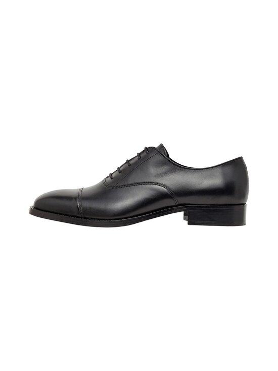 J.Lindeberg - Hopper Leather Oxford -nahkakengät - 9999 BLACK   Stockmann - photo 1