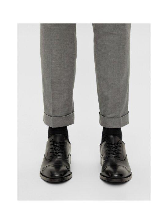 J.Lindeberg - Hopper Leather Oxford -nahkakengät - 9999 BLACK   Stockmann - photo 5