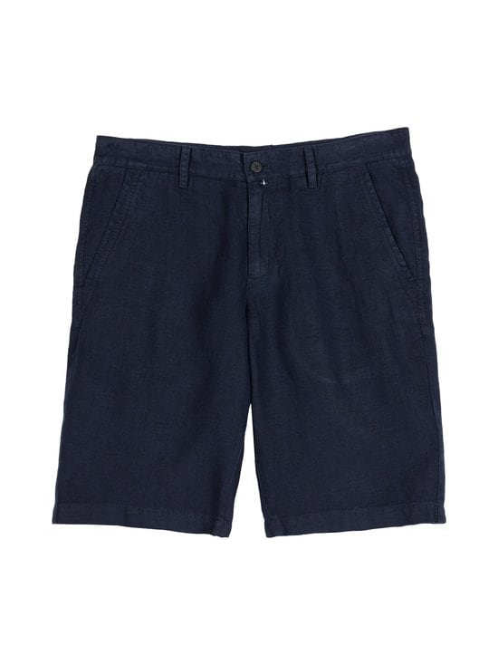 Marc O'Polo - Pellavashortsit - 896 DARK BLUE | Stockmann - photo 1