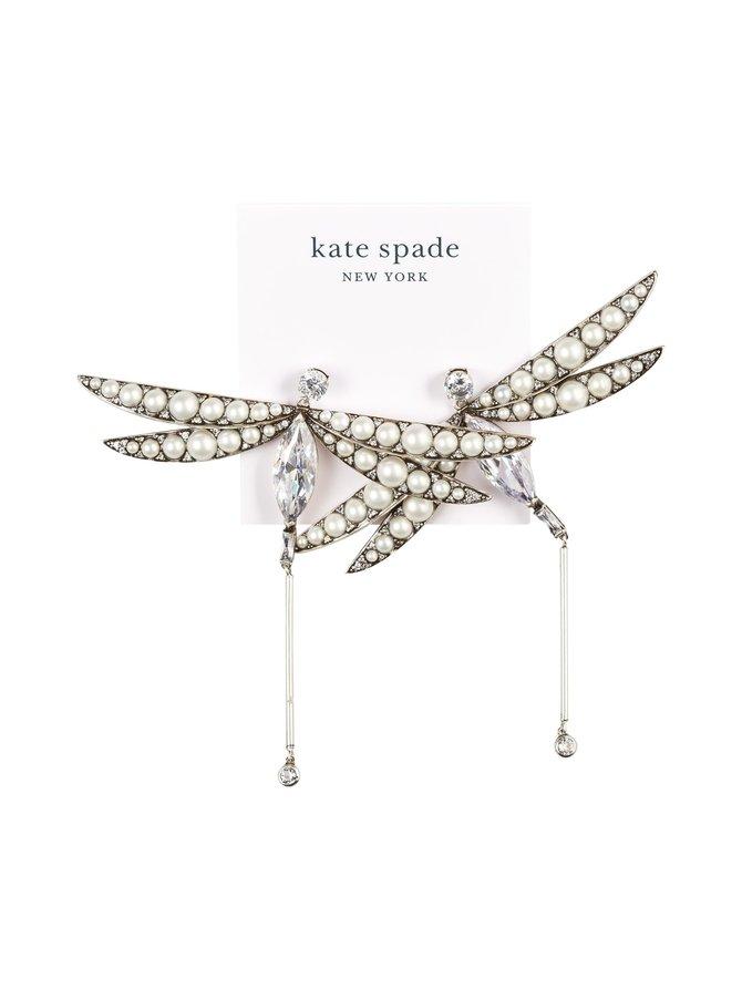 Future Heirloom Pearl Dragonfly -korvakorut