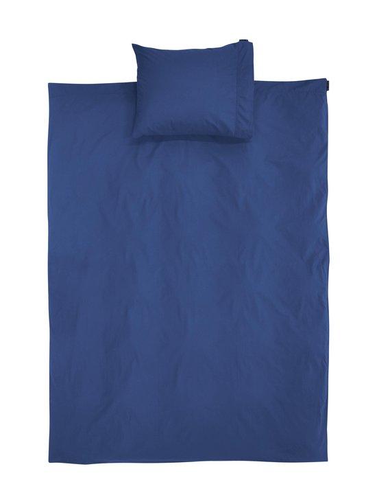 Blue Washed Cotton -pussilakanasetti