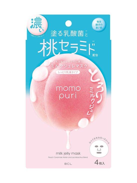 Momopuri Milk Jelly Sheet Mask -kangasnaamio 4 kpl