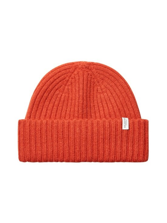 Selected - SlhMerino Cardigan Beanie -villapipo - KETCHUP | Stockmann - photo 1