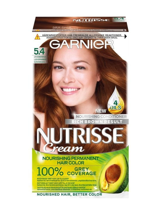 Garnier - Nutrisse Cream -hiusväri - 5.4 | Stockmann - photo 1