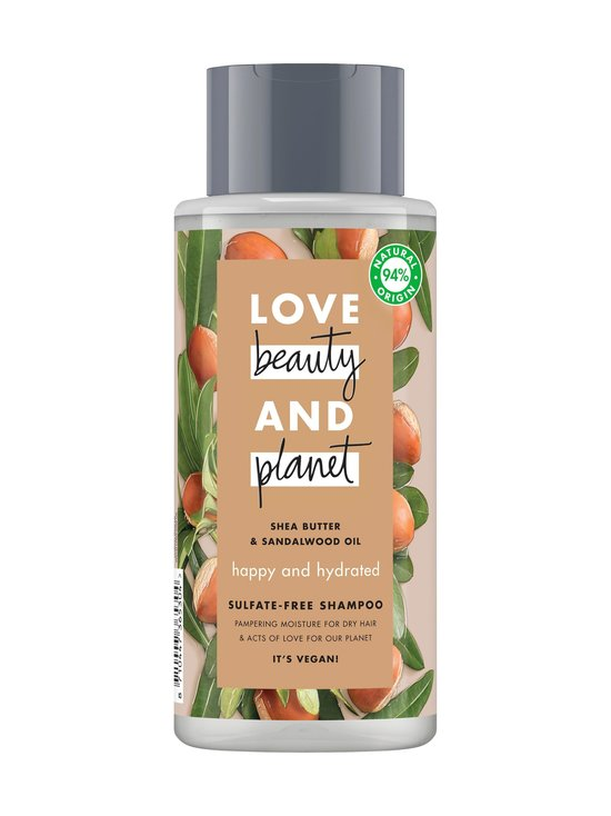Love Beauty and Planet - Happy and Hydrated -shampoo 400 ml - NOCOL | Stockmann - photo 1