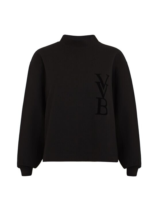 Victoria Victoria Beckham - 3D Logo -collegepaita - BLACK | Stockmann - photo 1