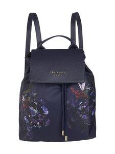 Ted Baker London - Keriie Pomegranate Drawstring Backpack -reppu - 10 NAVY | Stockmann
