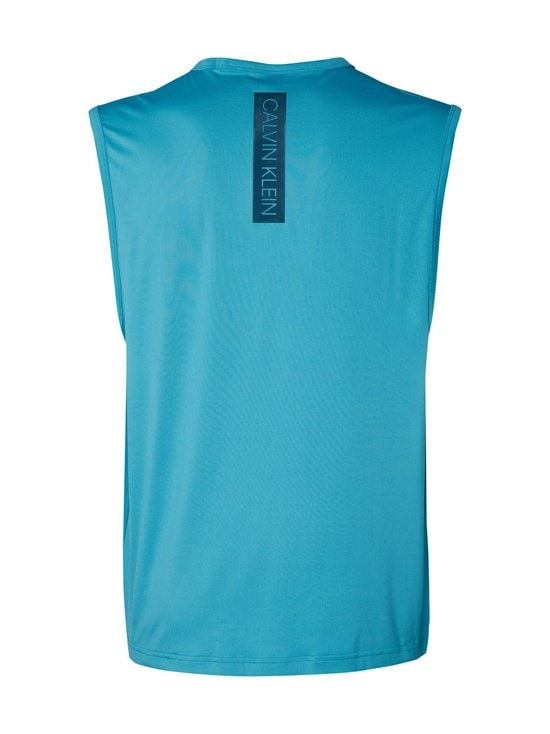 Calvin Klein Performance - Tank-treenitoppi - 491 BLUE MOON/MAJOLICA BLUE | Stockmann - photo 2