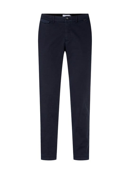 Calvin Klein Menswear - Slim Fit Garment Dye Chino -housut - DW4 CALVIN NAVY | Stockmann - photo 1