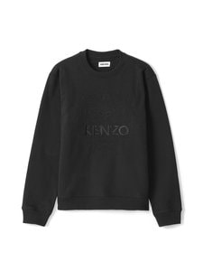 Kenzo - Embossed Tiger Crewneck -paita - 99 BLACK | Stockmann