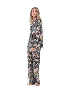 Mey - Pants Hilaria -pyjamahousut - 15 VENICE BLUE | Stockmann