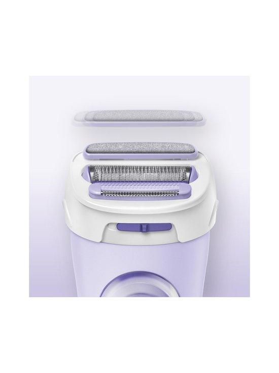 Braun - Silk-épil Lady Shaver 5-560 3-in-1 -ladyshaver, trimmeri ja kuorintajärjestelmä - LILA | Stockmann - photo 4