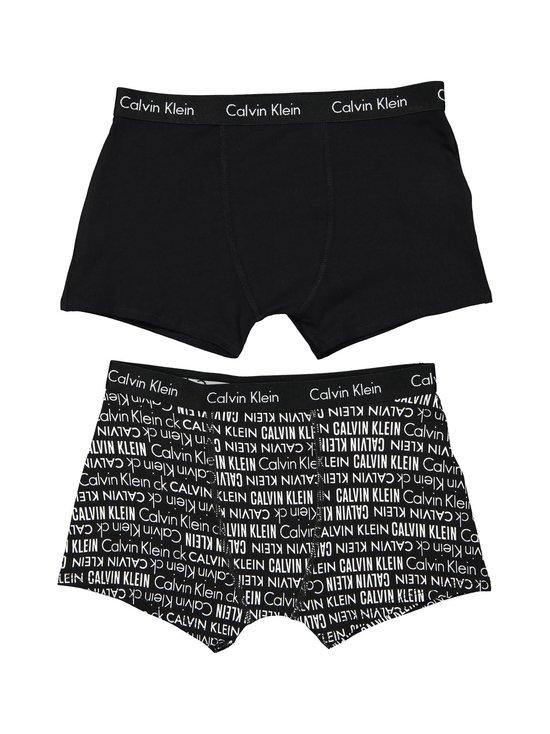 Calvin Klein Kids - Modern Cotton -bokserit 2-pack - BLACK PRINT/BLACK | Stockmann - photo 1