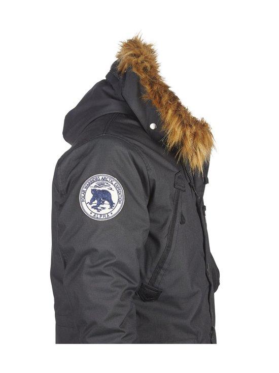 Alpha Industries - Polar Jacket -parkatakki - BLACK (MUSTA) | Stockmann - photo 3