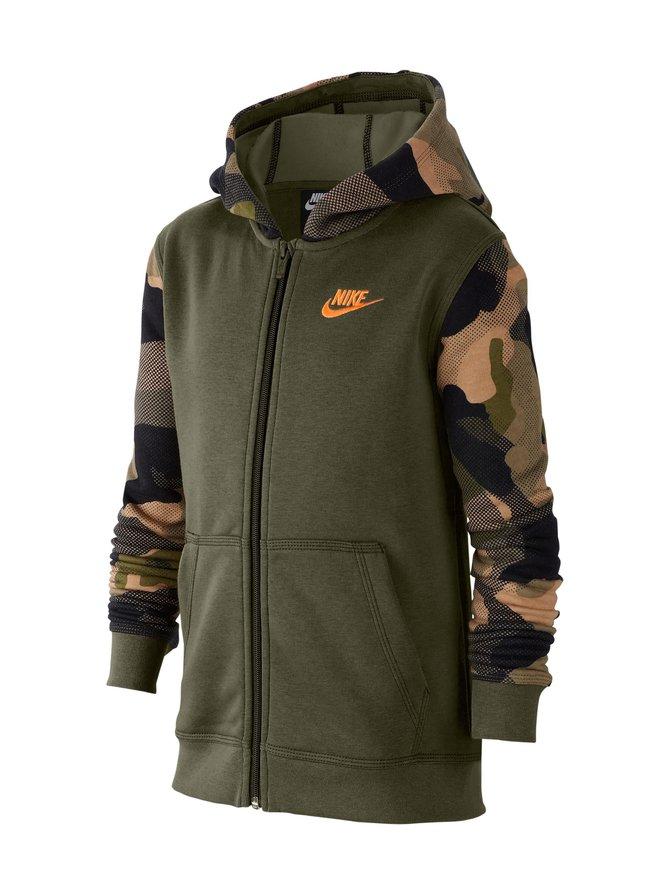 Sportswear Club Older Kids' Full-Zip Hoodie -huppari