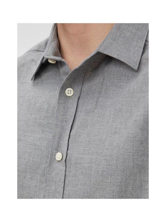 J.Lindeberg - Light Flannel Slim Shirt -flanellipaita - 9116 GRANITE | Stockmann - photo 5