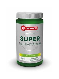 Bioteekki - Super Monivitamiini -ravintolisä 60 kaps./48 g | Stockmann