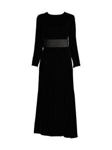 Emporio Armani - Velvet Long Dress -mekko - 0999 BLACK | Stockmann