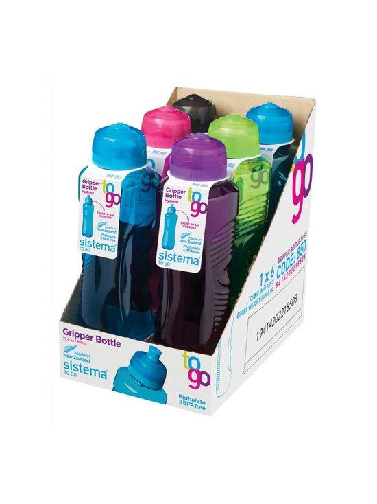 Sistema - Gripper-juomapullo 800 ml - PINK, GREEN, BLUE, PURPLE, BLACK | Stockmann - photo 1