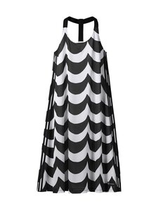 adidas x Marimekko - Tank Dress -mekko - BLACK/WHITE BLACK/WHITE | Stockmann