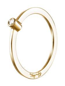 Efva Attling - My First Diamond Ring -sormus - GOLD & DIAMOND | Stockmann