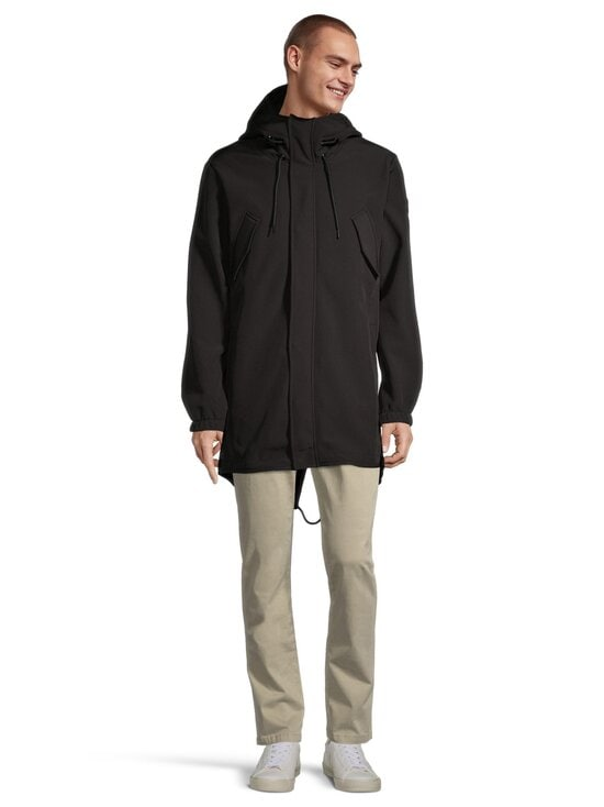Only & Sons - OnsHall Softshell Parka -takki - BLACK | Stockmann - photo 2