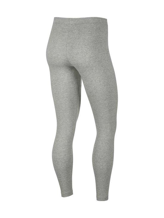 Nike - W Sportswear Club -leggingsit - 063 DK GREY HEATHER/WHITE | Stockmann - photo 2