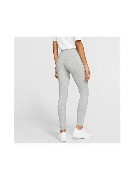 Nike - W Sportswear Club -leggingsit - 063 DK GREY HEATHER/WHITE | Stockmann - photo 4