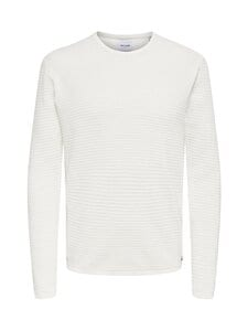 Only & Sons - OnsLexon-neule - STAR WHITE | Stockmann