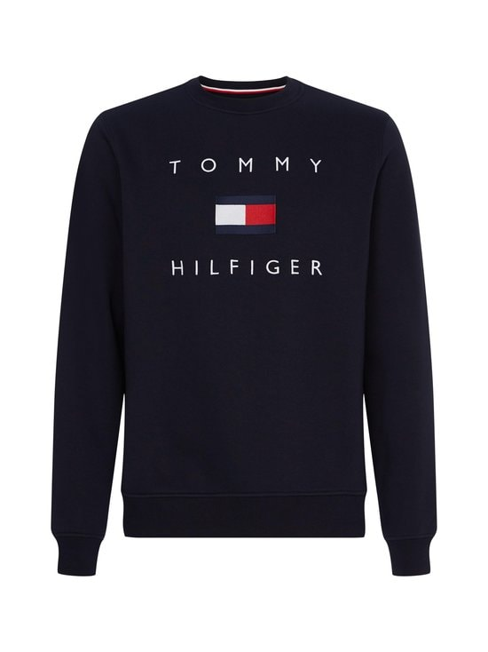 Tommy Flag Sweatshirt -collegepaita