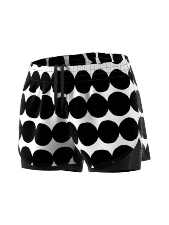 adidas x Marimekko - 2IN1-shortsit - BLACK   Stockmann - photo 2