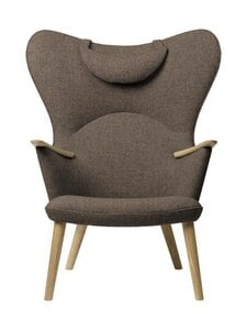 Carl Hansen&Son - CH78 Mama Bear -nojatuoli + niskatyyny - 271 LIGHT BROWN FIORD | Stockmann
