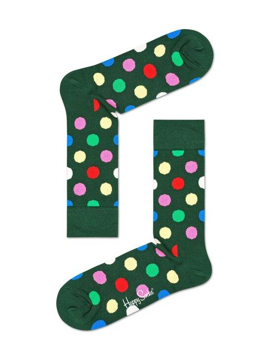 Happy Socks - Big Dot -sukat - 7400 GREEN | Stockmann - photo 1